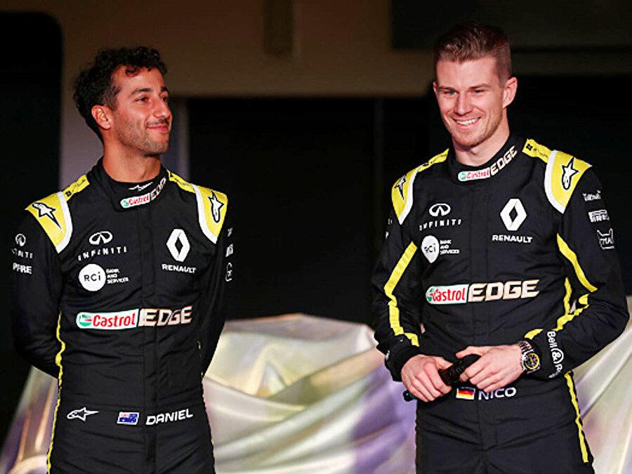 Ricciardo'nun 8, Hulkenberg'in de 1 puanı silindi.