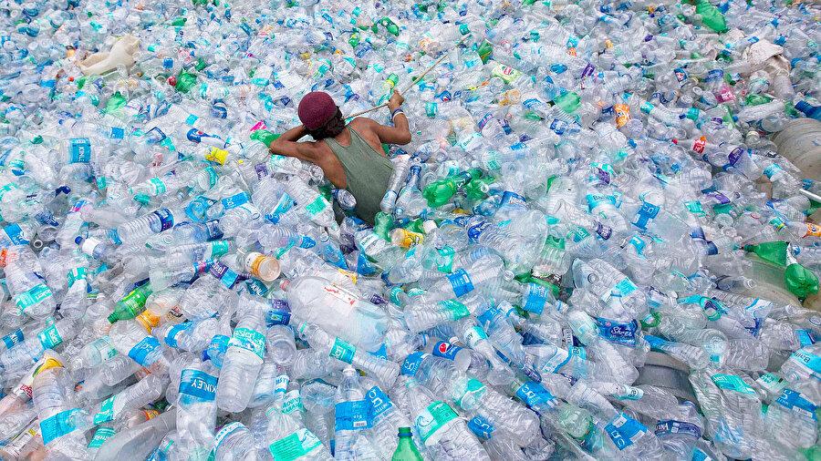 Plastik kullanımı doğaya telefi edilemez tahribat veriyor.