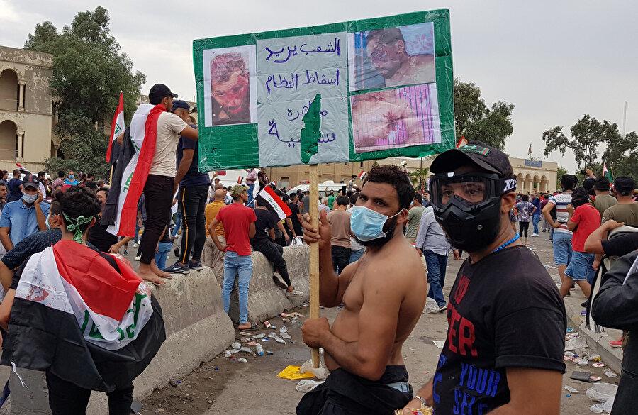 Irak'ta Şiilerin en yüksek dini merci Ali es-Sistani, ülkede oluşabilecek kaos ortamına karşı uyardı.