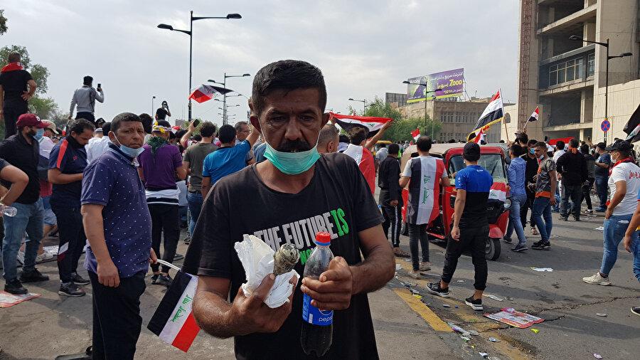 Hükümet karşıtı gösteriler.
