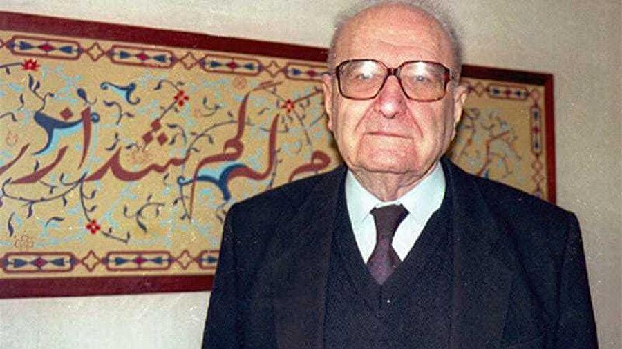 Siyonizim karşıtı görüşlerinden dolayı Avrupa'da dışlanan Fransız düşünür Garaudy.