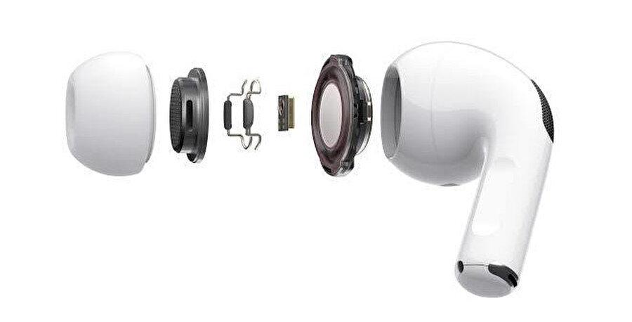 Üç farklı silikon uçtan kulağınıza en uygununu belirleyebilir ve takabilirsiniz.