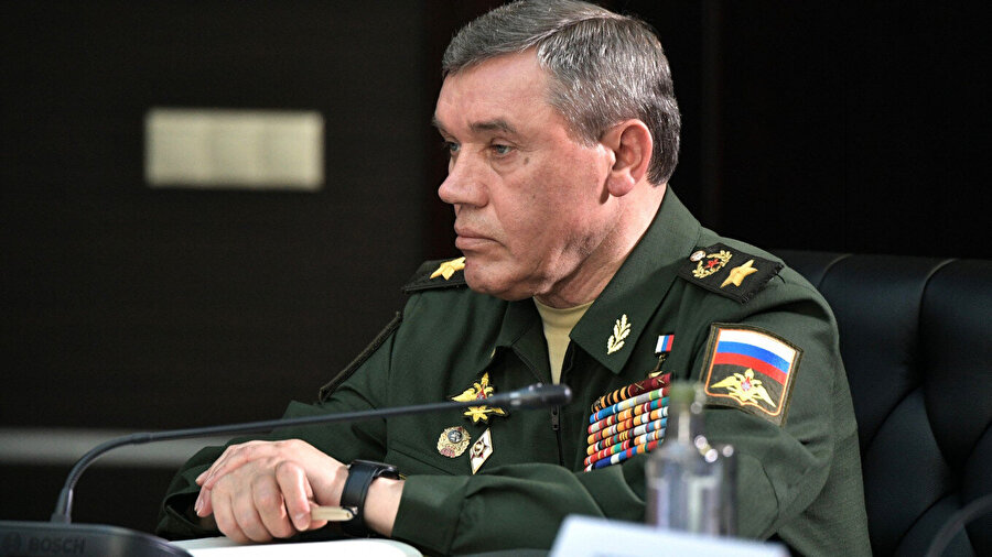 Rusya Genelkurmay Başkanı Valery Gerasimov
