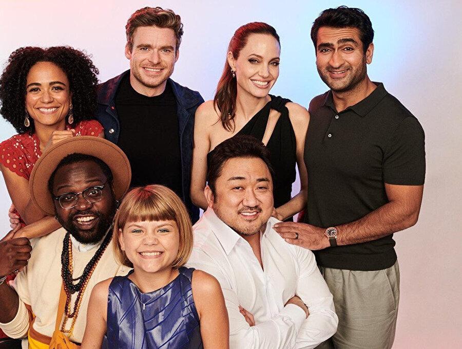 Marvel ekibi.