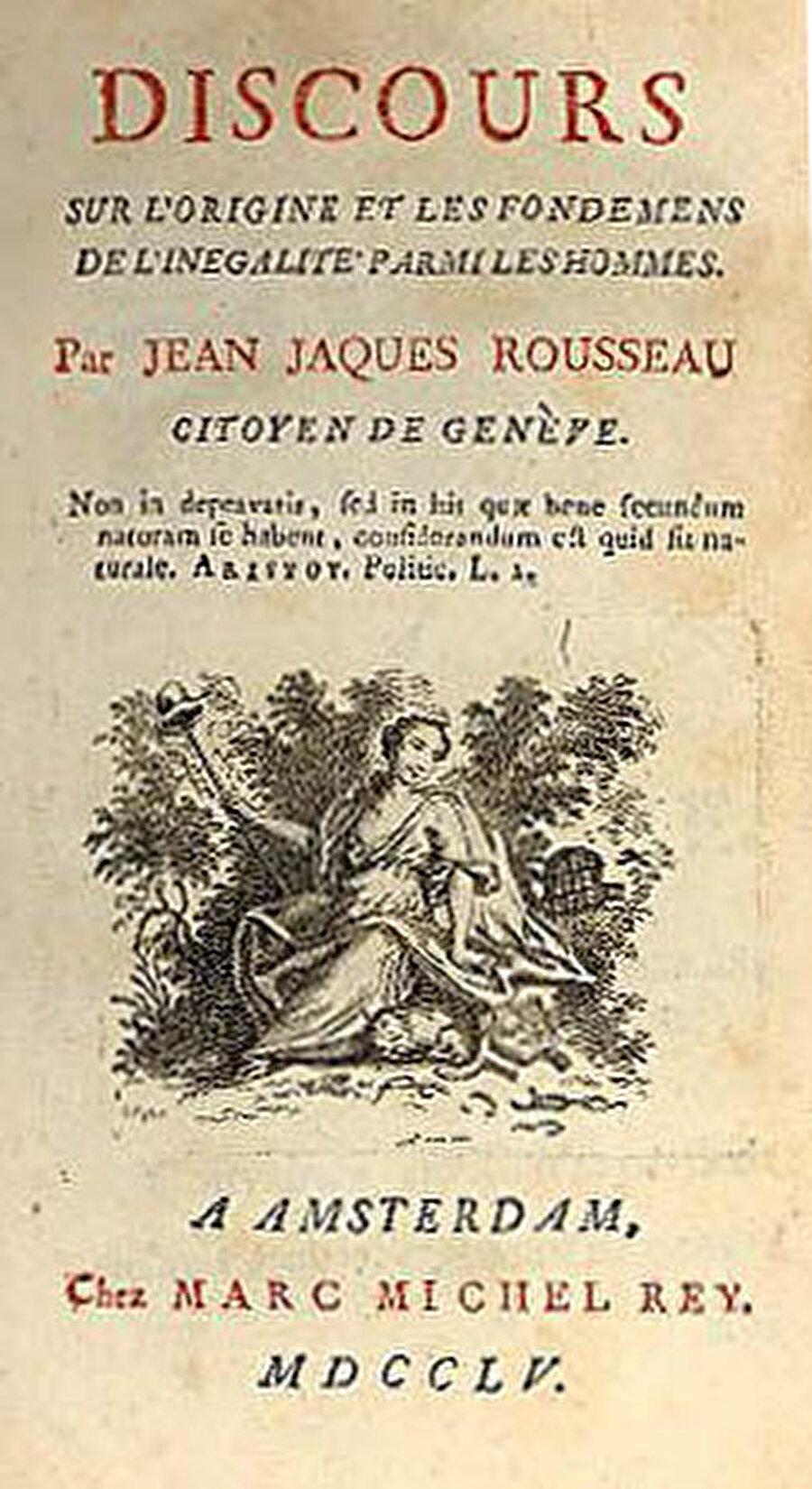 Voltaire'in Eşitsizlik Hakkında Nutuk kitabı