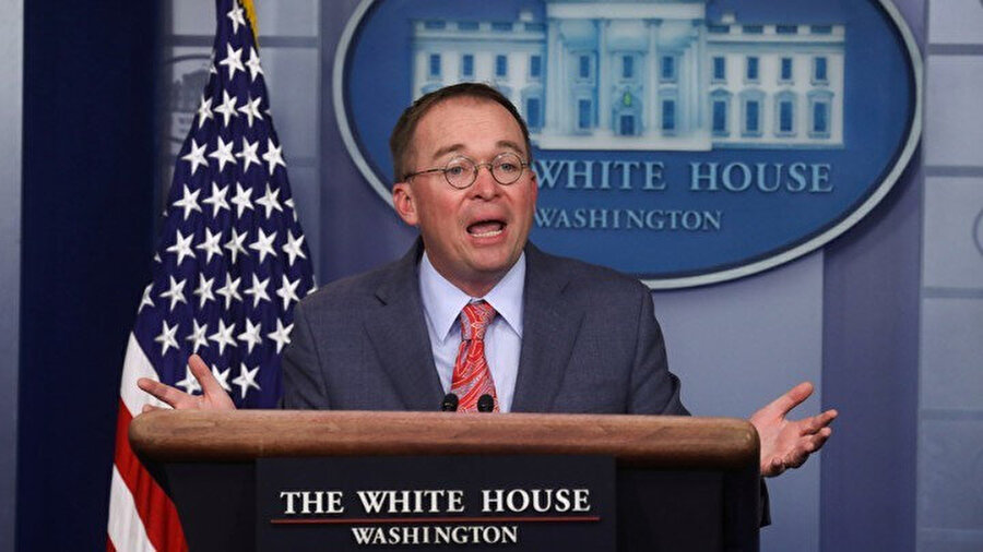 Beyaz Saray Genel Sekreteri Vekili Mick Mulvaney