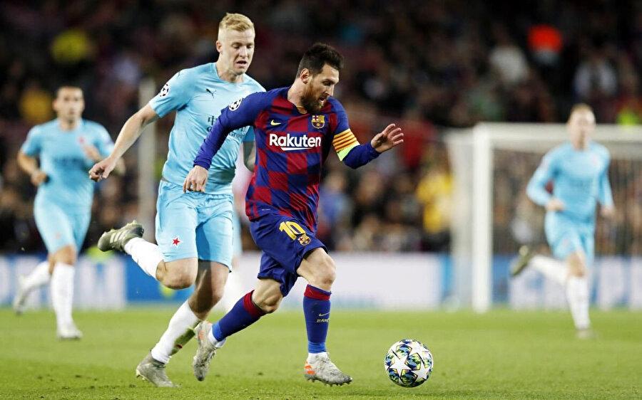 Barcelona 4 maçta 2 galibiyet 2 mağlubiyet elde etti.