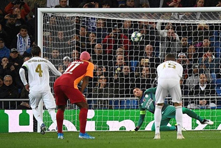 Sergio Ramos Şampiyonlar Ligi'nde 2. golünü kaydetti.