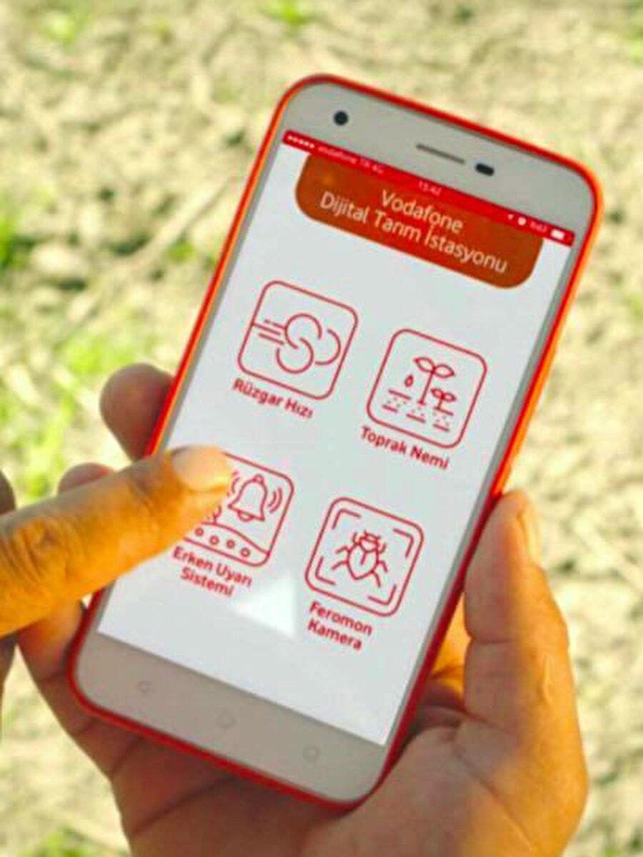 Dijital Tarım Projesi'ni akıllı telefonlar üzerinden anbean takip edebilmek mümkün.