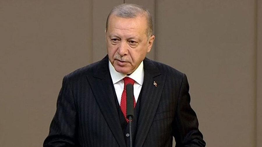 Cumhurbaşkanı, UEFA'ya sporcularımıza tutumlarından dolayı tepki gösterdi.