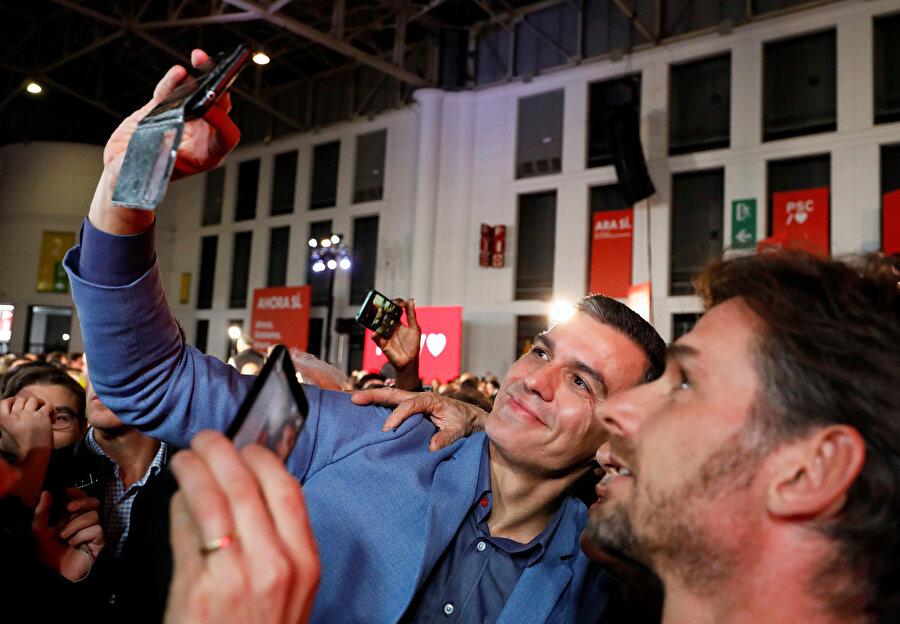 PSOE lideri Pedro Sanchez