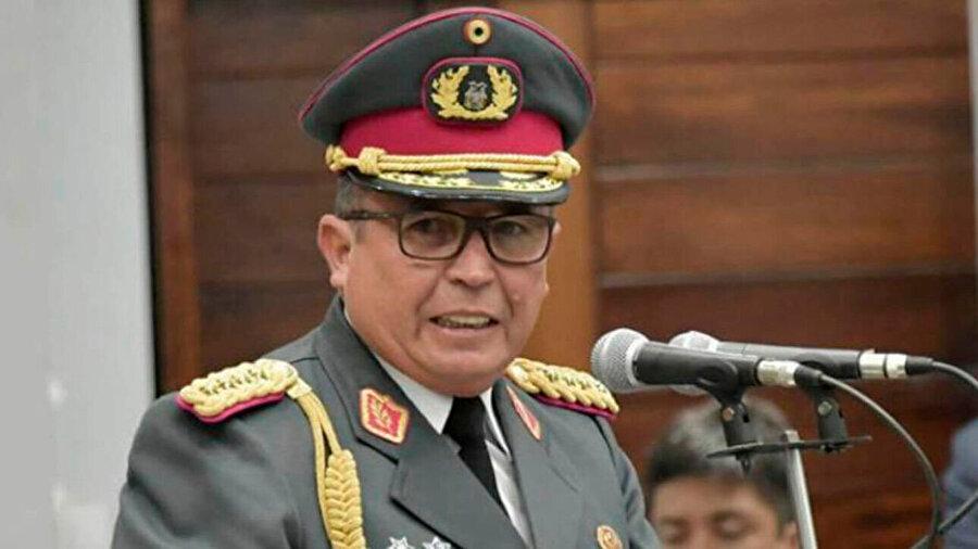İstifanın perde arkasındaki isim; Bolivya Silahlı Kuvvetleri Genel Kurmay Başkanı Williams Kaliman