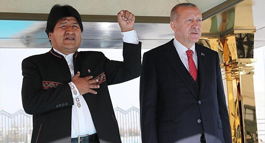 Bolivya Devlet Başkanı Juan Evo Morales Ayma, Nisan ayında Türkiye'yi ziyaret etmişti.
