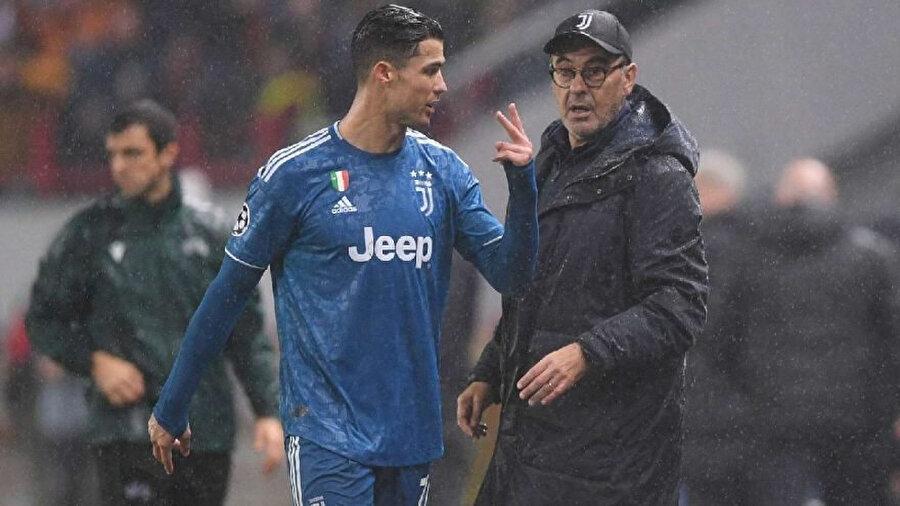 Milan maçındaki değişiklik, Sarri-Ronaldo gerginliğini zirveye taşımış olabilir.