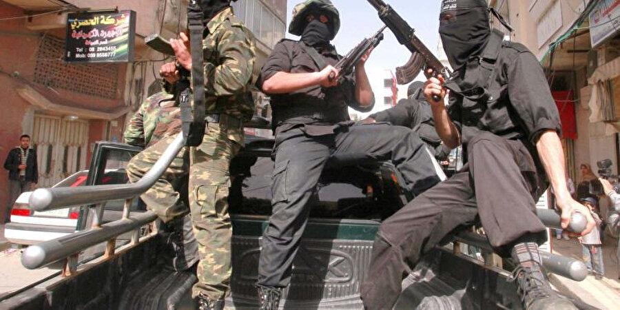 Gazze, İslami Cihad mensupları.