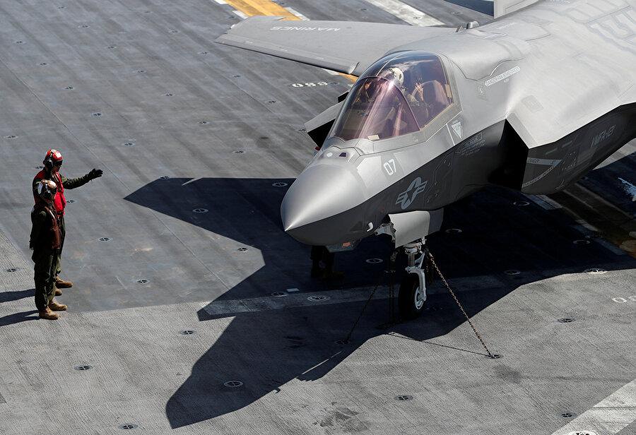 F-35 böyle görüntülenmişti.