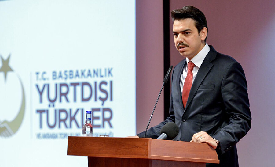Yurtdışı Türkler ve Akraba Topluluklar Başkanlığı Başkanı Abdullah Eren