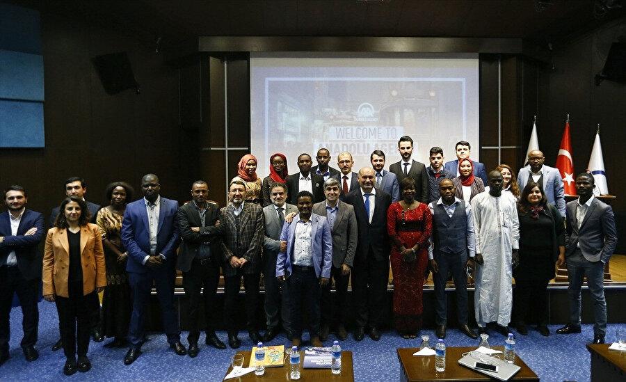 Afrikalı Medya Temsilcileri Anadolu Ajansını ziyaret etti