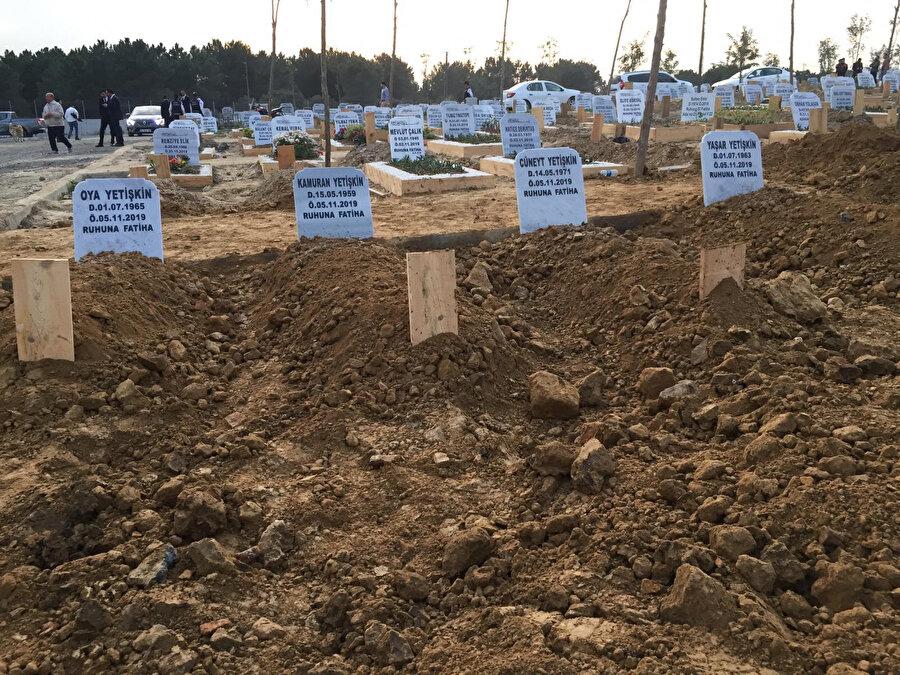 Fatih'te siyanür ile intihar eden 4 kardeşin mezarı böyle görüntülenmişti.