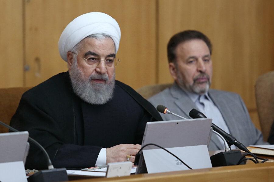 İran Cumhurbaşkanı Hasan Ruhani, basın toplantısı sonrası önemli açıklamalarda bulundu.