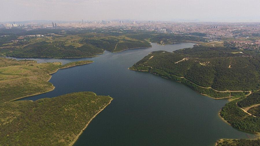 İstanbul Alibeyköy barajı