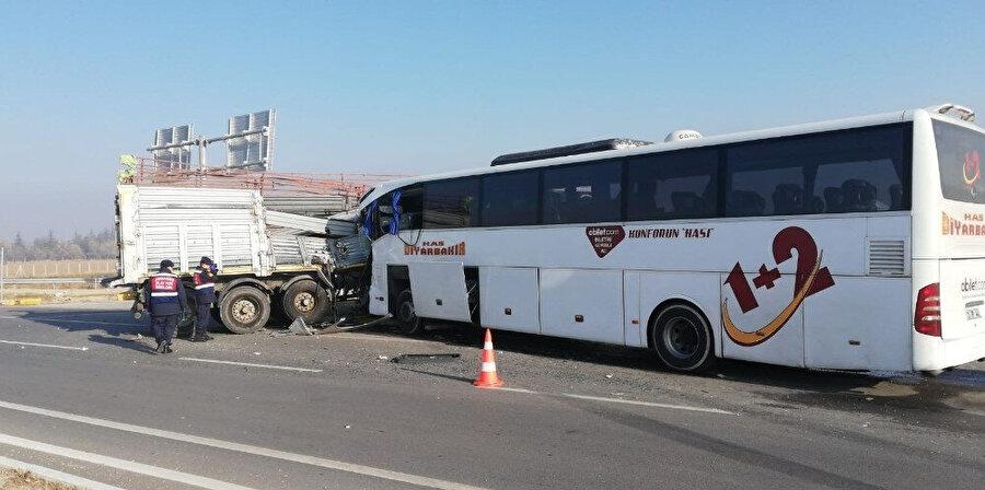 Kaza anından başka görüntü