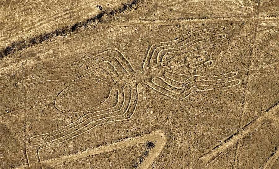 Nazca Çizgileri, 2500 yıllık gizemini korumaya devam ediyor.