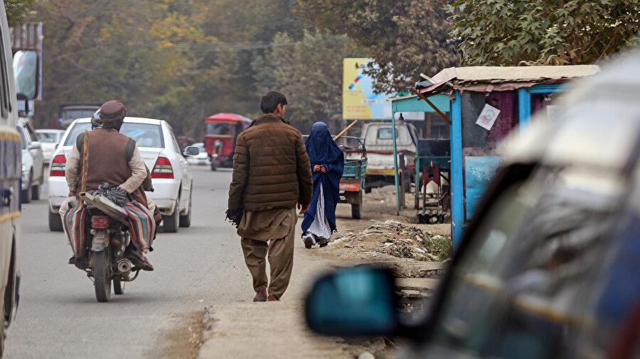 Afganistan sokakları.