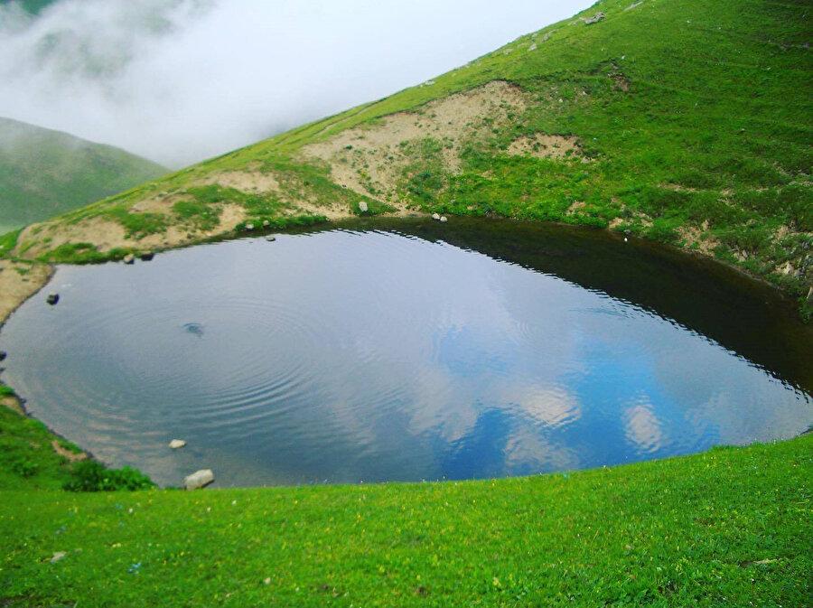 Doğa harikası Dipsiz Göl'ün eski hali
