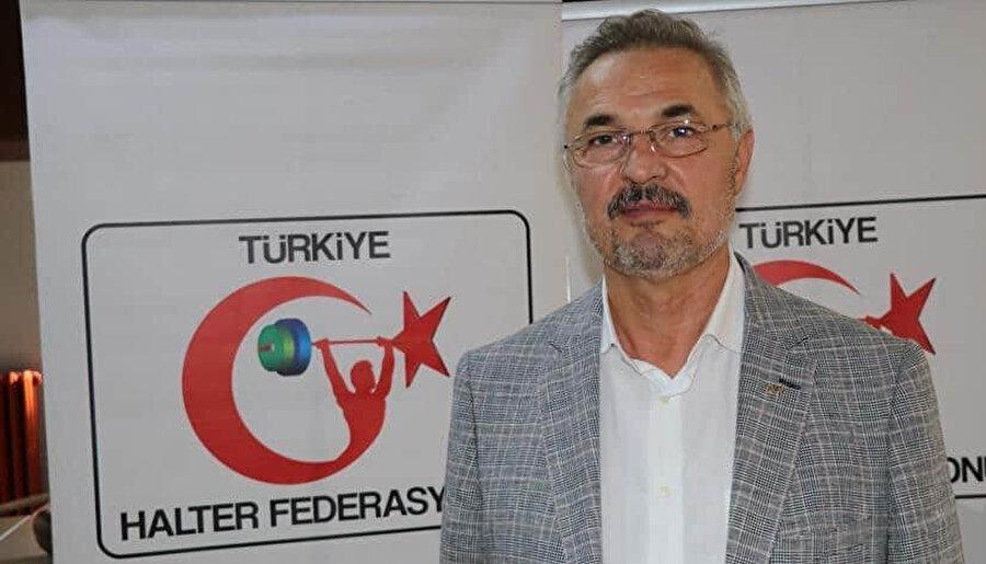 Türkiye Halter Federasyonu Başkanı Tamer Taşpınar.