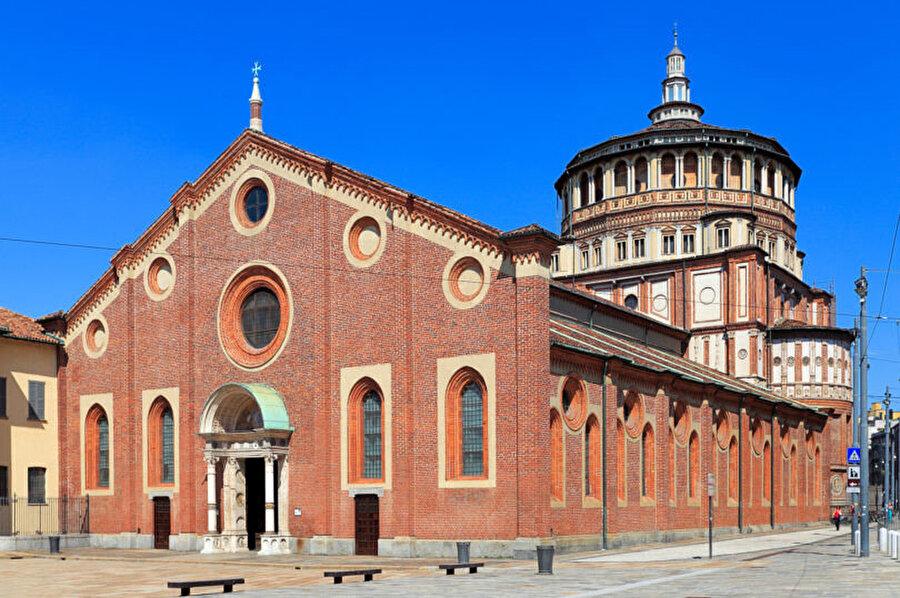 Santa Maria delle Grazie Kilisesi.