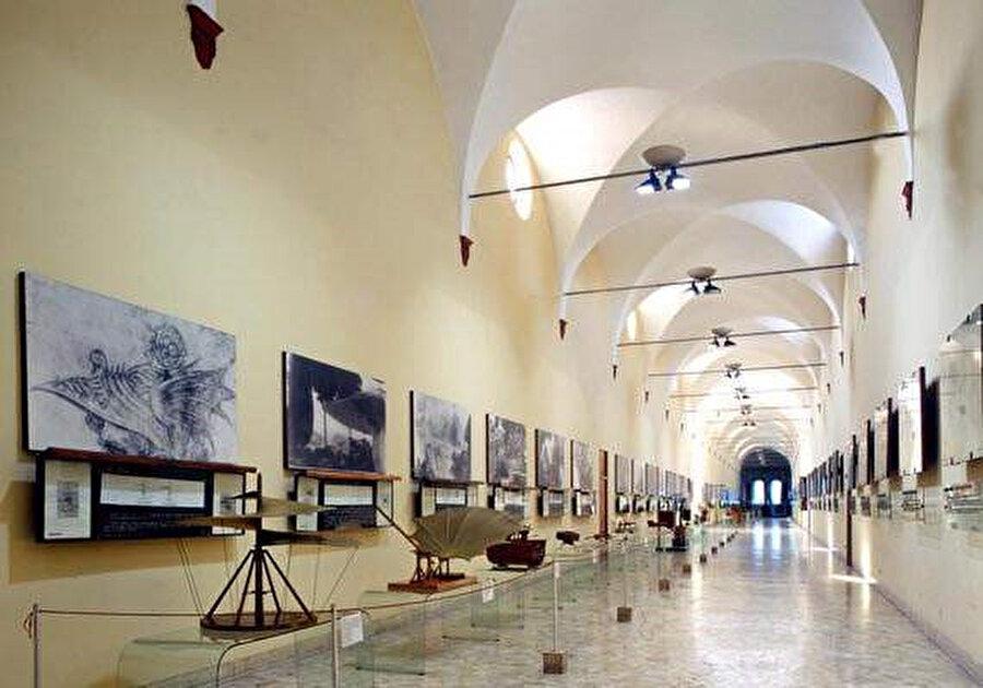 Leonardo da Vinci Ulusal Bilim ve Teknoloji Müzesi.