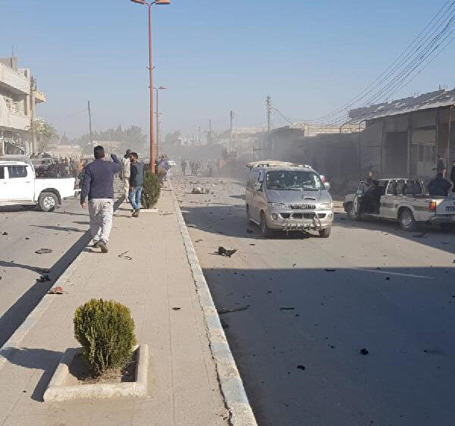 Pek çok araç ve bina patlamadan zarar gördü -DHA