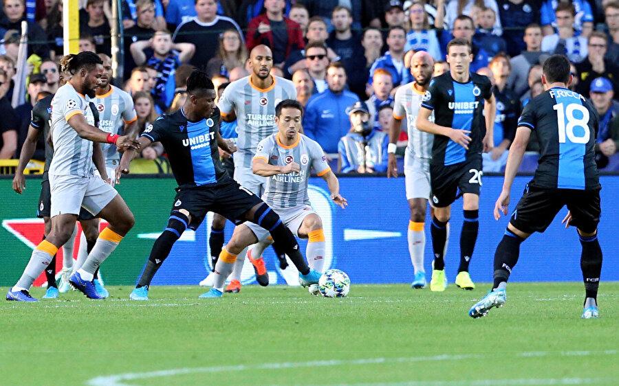 Galatasaray'ın Şampiyonlar Ligi'nde konuğu Club Brugge.