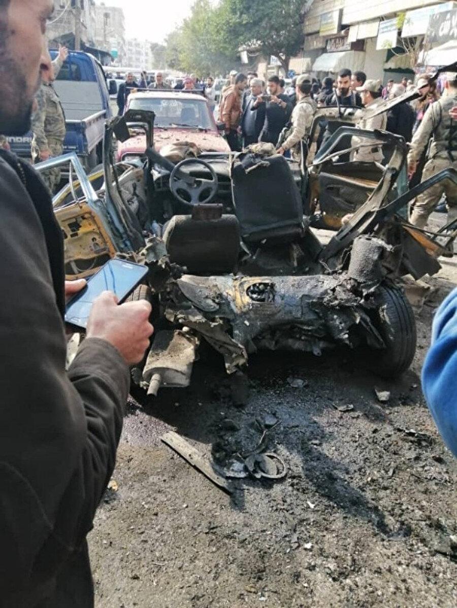 Bombalı saldırıyı gerçekleştiren araç