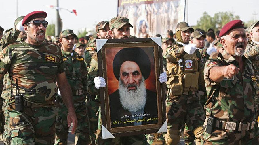 Şiilerin dini merci Ali Sistani, Irak siyasetinde oldukça etkili bir isim.