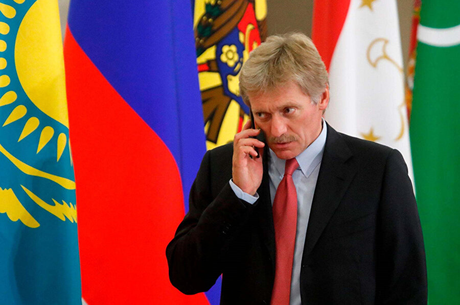 Kremlin Sözcüsü Dimitri Peskov.