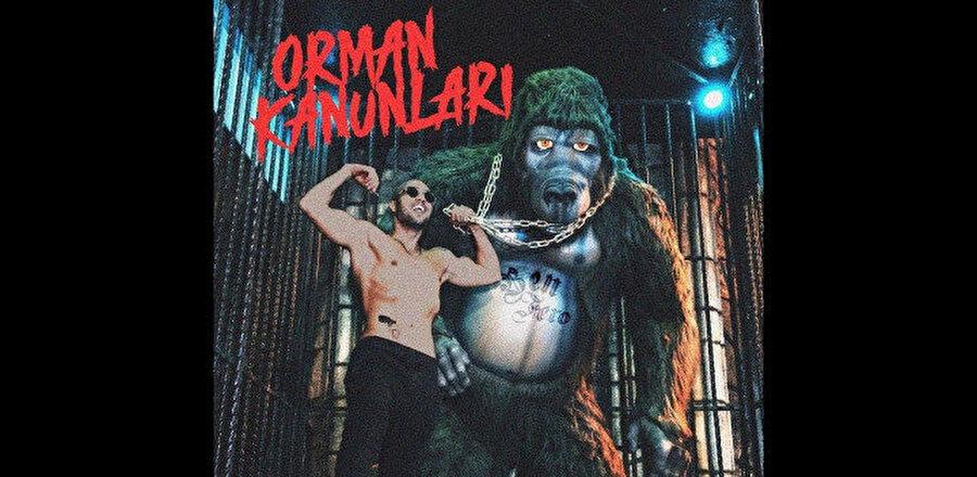 Ben Fero'nun tepki çeken albümün kapağı.