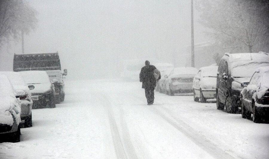 Doğu'da kar yağışı etkili oluyor.