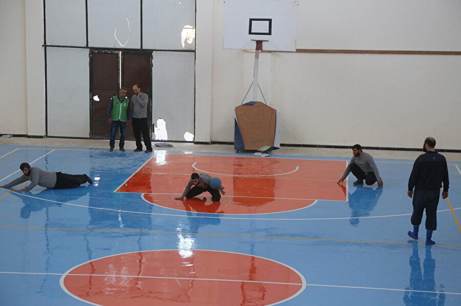 Görme engelliler için ilk defa Goalball turnuvası yapıldı