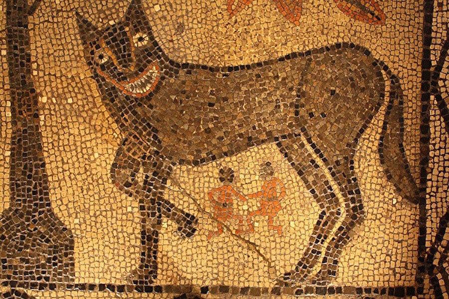Efsaneye göre Romulus ve ikiz erkek kardeşi Remus, yetim bebekler iken bir dişi kurt tarafından emzirildikleri yerde Roma şehrini kurdu.