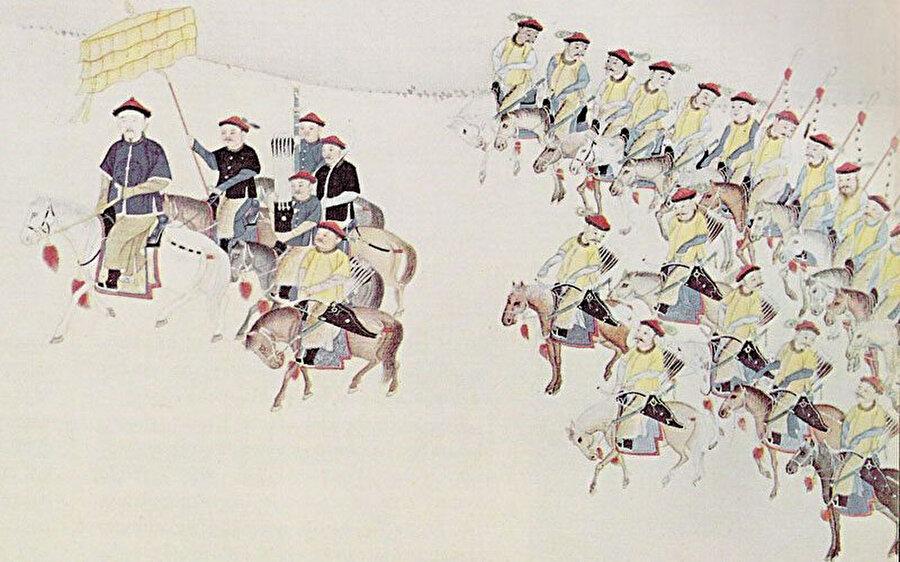 Çing Hanedanınlığı'nın Ming Hanedanlığı'nı ele geçirmek üzere düzenlediği sefer.