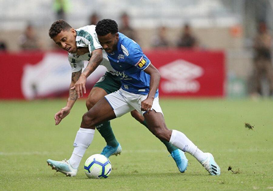 Cruzeiro ligde 38 karşılaşmada 36 puan topladı.
