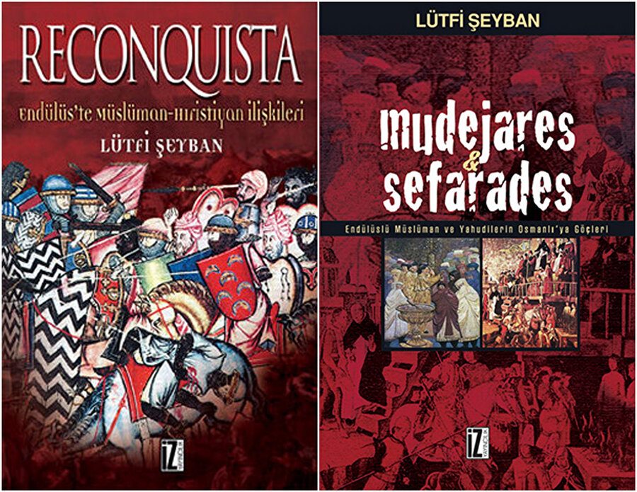 Prof. Lütfi Şeyban'ın Endülüs ile alakalı yaptığı çalışmalar arasında yer alan bu iki kıymetli kitabı bu sahada yazılmış önemli eserler arasında yer alır.