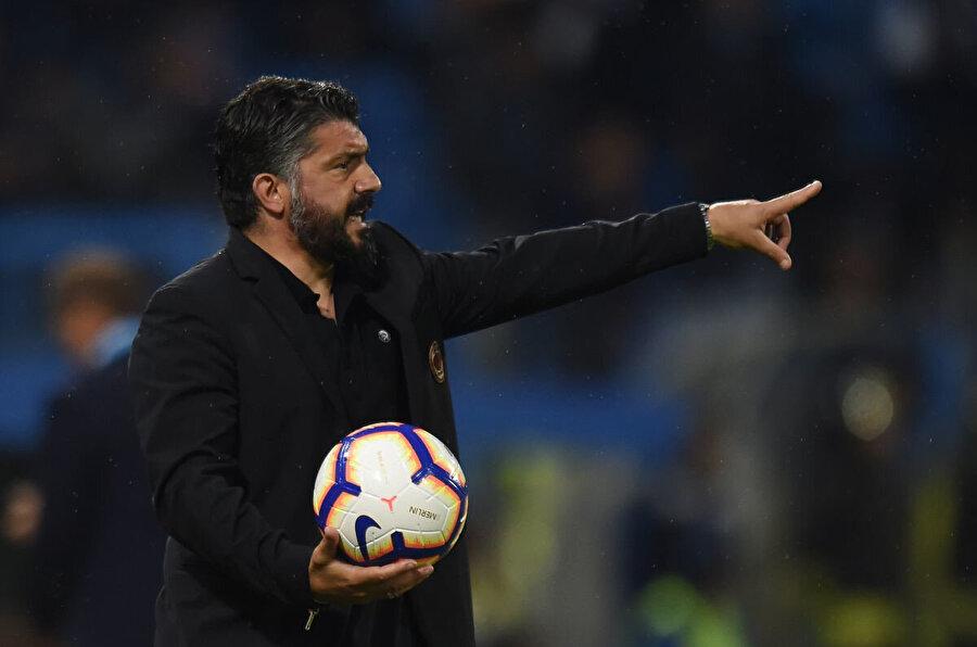 Gattuso son olarak Milan'ın başında 85 karşılaşmada 41 galibiyet elde etti.