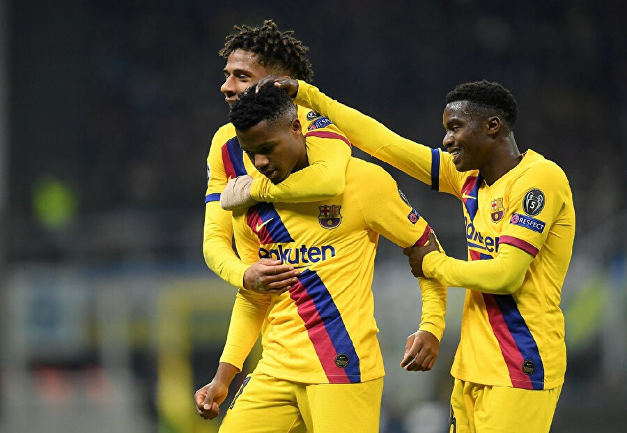 Ansu Fati 422 dakikada 3 gol 1 asist üretti.