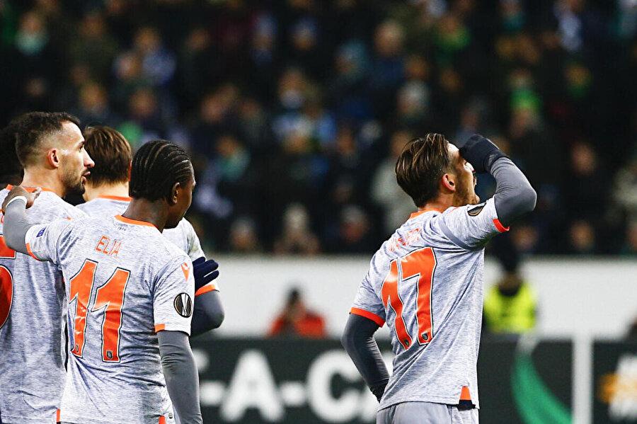 İrfan Can Kahveci Avrupa Ligi'nde 2 gol kaydetti.
