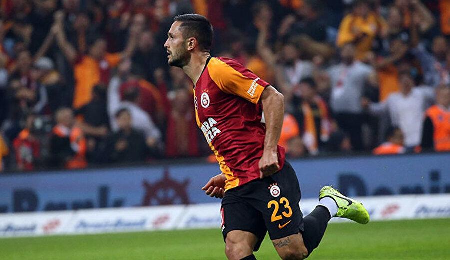 Andone, Galatasaray formasıyla 2 gol kaydetti.
