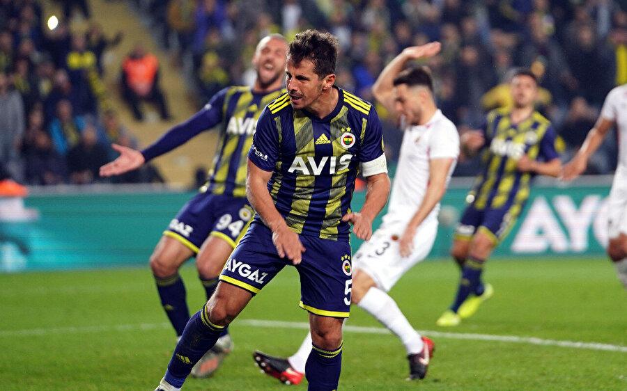 Emre Belözoğlu bu sezon 1 gol 4 asist üretti.