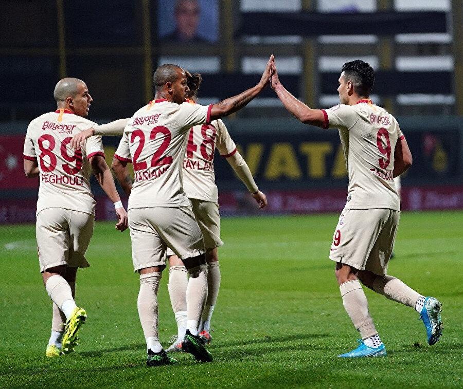 Falcao bu sezon 2. golünü kaydetti.